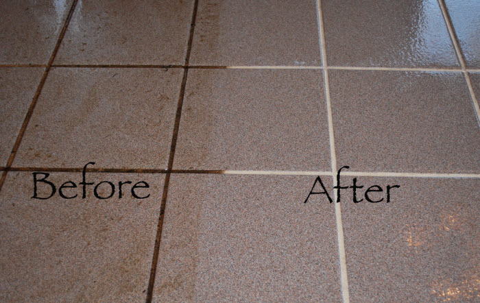 restaurant tile cleaning