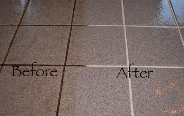 restaurant tile cleaning